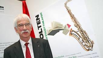 Klaus Fischer an der Buchmesse Olten