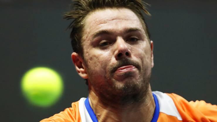 Stan Wawrinka scheitert am ATP-Turnier in Tokio in der 2. Runde
