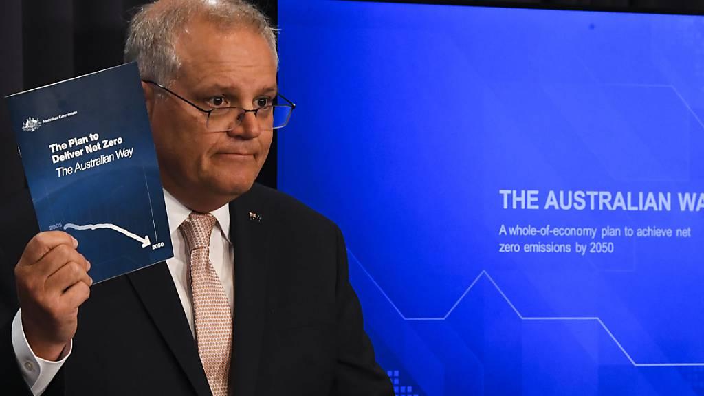 Ankündigung vor COP26: Australien will bis 2050 klimaneutral werden