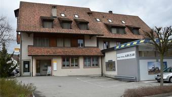 Die Poststelle in Gipf-Oberfrick zieht im Herbst in den Volg-Laden gleich nebenan. nbo/archiv