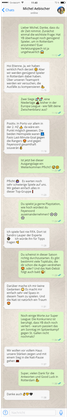 Michel Aebischer im WhatsApp-Interview