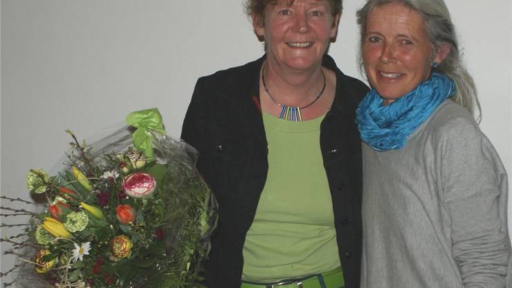 Barbara Wyss Flück (links).