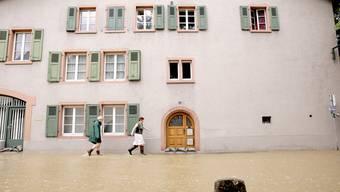 Hochwasser in Muttenz