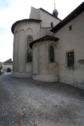 … die andern Fassaden der Kirche sind nicht mehr in Topzustand …