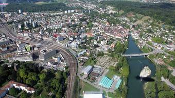 Die Gemeinden Brugg und Windisch (links) haben die Revision der Ortsplanung gemeinsam angepackt.