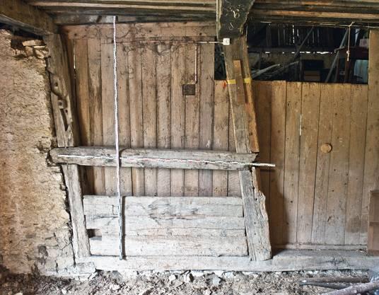 Faszinierende Logik: Dermassen freigelegte Bausubstanz im Gebäudeinneren erlaubt den Archäologen vertiefte Einblicke in die damaligen Bautechniken.