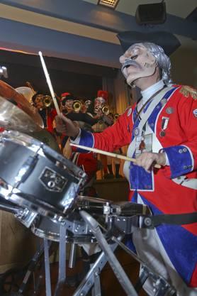 Die Fränkeschränzer wüteten als britische Kolonialisten über die Bühne