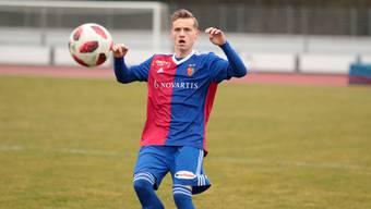 Konnte gegen den vermeintlich schwächeren FC Wohlen nur per Pentalty treffen: FCB-Spieler Bastien Conus.