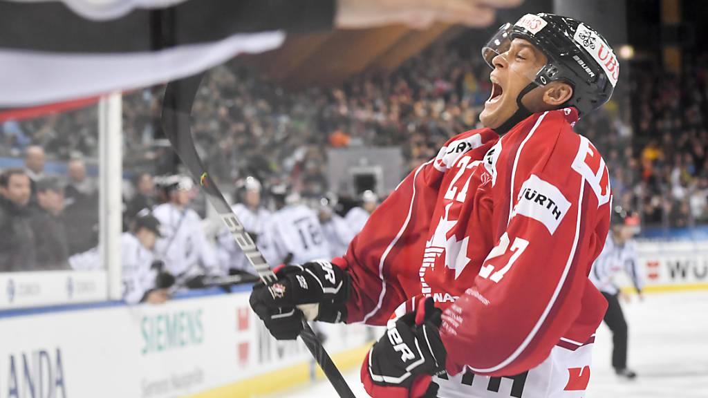 Kloten gewinnt in der Swiss League 10 Spiele in Serie