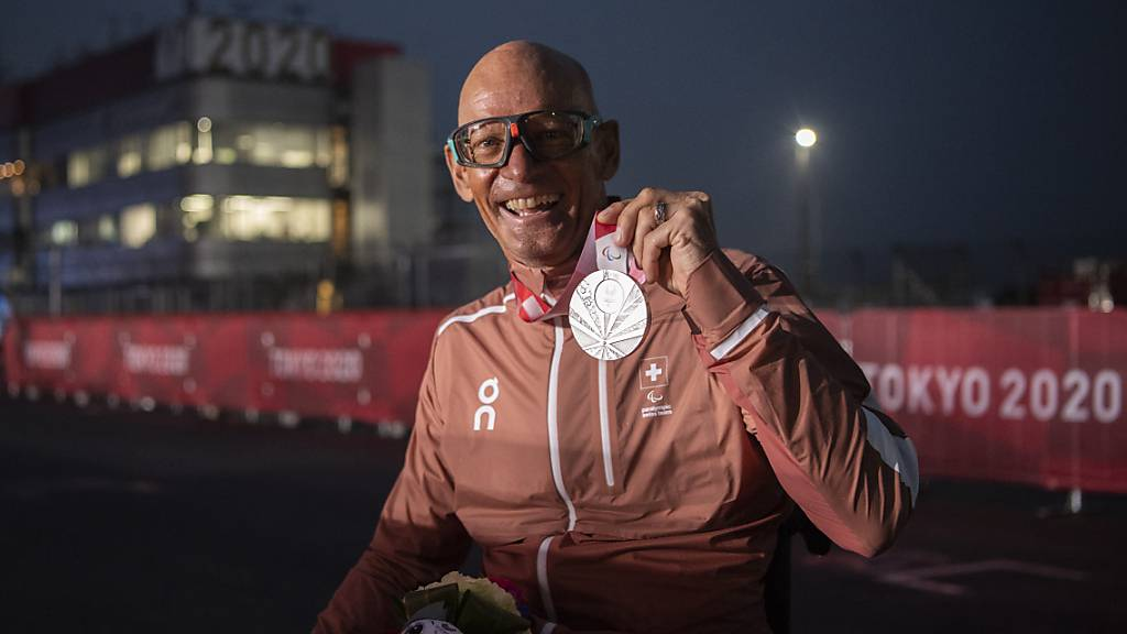 Heinz Frei sichert sich Silber im Strassenrennen