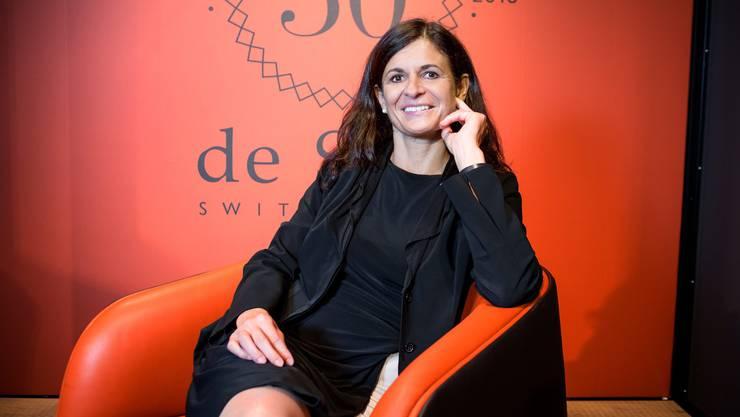 Monika Walser, CEO bei de Sede, wurde für ihre unternehmerischen Leistungen ausgezeichnet.