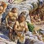 Geschlechterrollen sind nicht seit der Steinzeit starr: Diesen Beutezug führt eine Frau an. (Illustration)