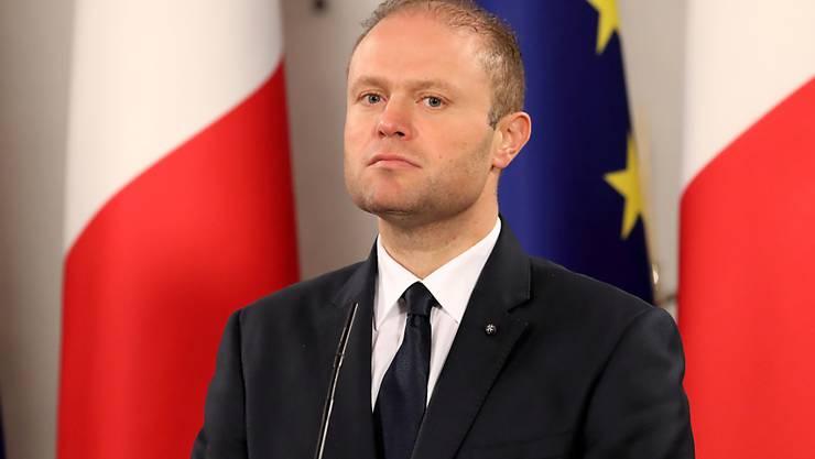 Maltas Regierungschef Joseph Muscat hat am Sonntag eine Dringlichkeitssitzung einberufen. Thema dürfte der Rücktritt Muscats sein.