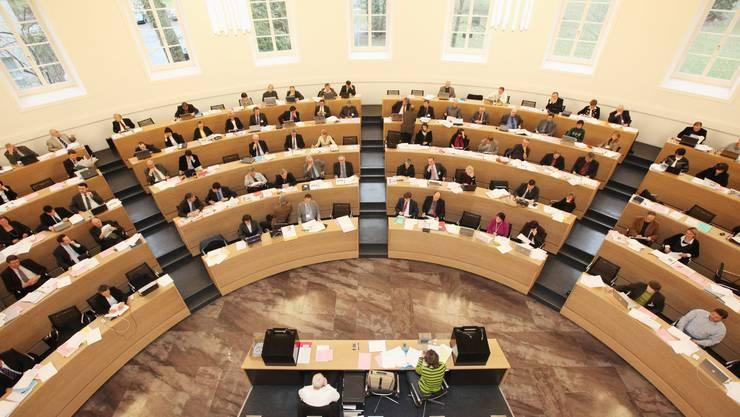 Im Grossen Rat herrscht Budgetzeit. (Archivbild)