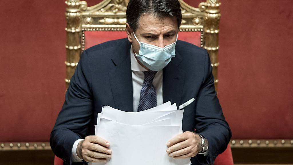 Italien beschliesst neue Massnahmen im Kampf gegen die Corona-Pandemie