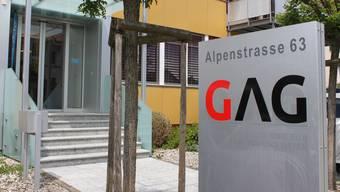 Hauptsitz der Gemeinschaftsantenne GAG an der Alpenstrasse Grenchen.