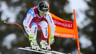 Lara Gut-Behrami konnte sich im zweiten Abfahrtstraining in Lake Louise steigern.