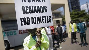 Kenias Athleten können einen Neuanfang machen