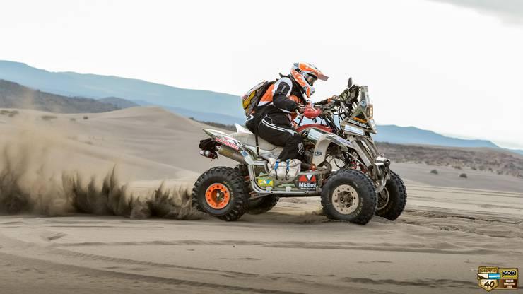 Ganz allein in der Wüste: Angelica Weiss Emori (56) kennt dieses Gefühl vom Qualirennen «Desafio Ruta 40» in Argentinien.
