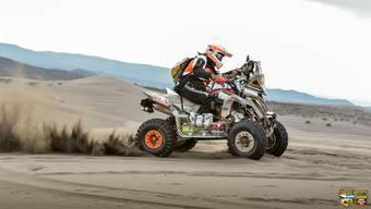 Angelica Weiss Emori fährt als erste Frau mit Quad die «Africa Eco Race»-Rallye
