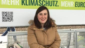 Sara Dürr (30), Projektassistentin Fachhochschule Nordwestschweiz, Aarau.