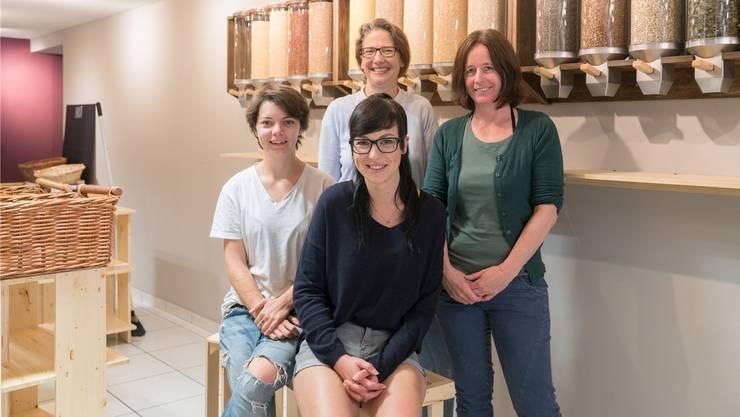 Nadine Almer, Regula Simsa, Andrea Hilfiker und Barbara Reusser (v.l.).Mario Heller