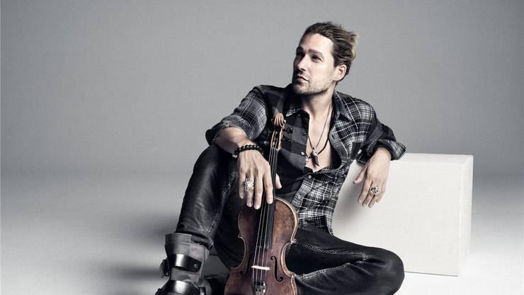 In der Musik mag er keine Grenzen: Stargeiger und Bandleader David Garrett.