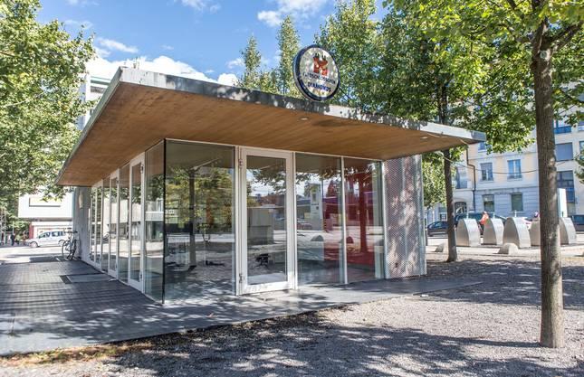 Die Stadt will den ganzen Pavillon auf dem Dornacherplatz erwerben.