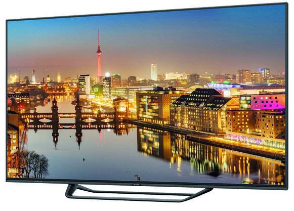 Vier mal schärfer als Ultra-HD-TV. Das 70-Zoll-Gerät von Sharp löst mit 8K auf. Ganz günstig ist das aber nicht. Im Internet kann das Gerät für 13 999 Franken bestellt werden.