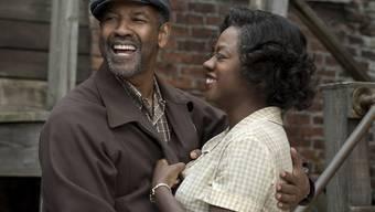 """Denzel Washington - hier in seinem neuen Film """"Fences"""" - hält Oscar-Nominationen immer noch für unfair. (Archivbild)"""