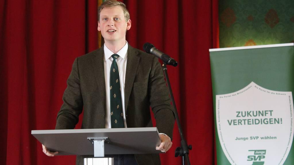 Trachsel ist neuer Präsident der Jungen SVP Schweiz