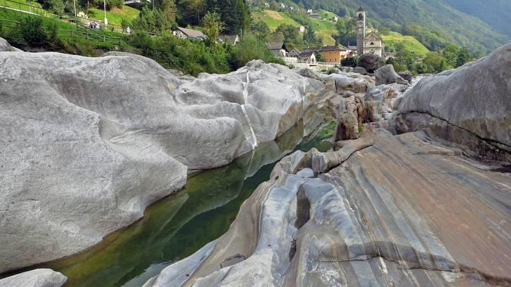 Verzascatal im Tessin, Schweiz