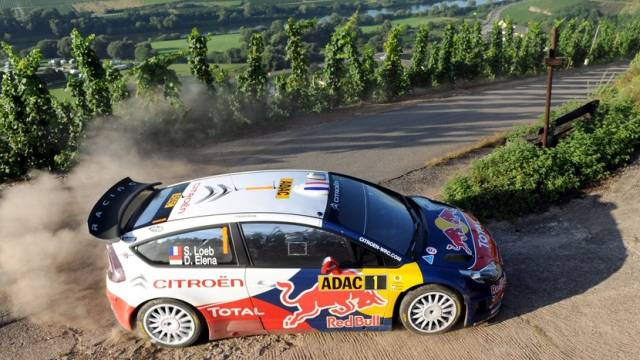 Sébastien Loeb setzte unglaubliche Serie bei Deutschland-Rallye fort