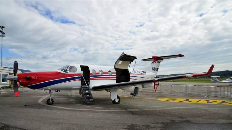 Pilatus Porter PC-12 der Mission Aviation Fellowship.