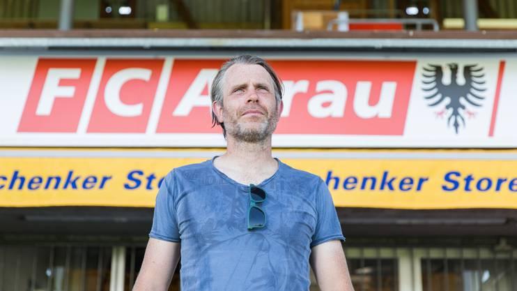 Stephan Keller hofft auf eine hüpsche Gruppe Aarau Fans, welche die Mannschaft nach Vaduz begleiten