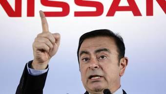 Die Untreuevorwürfe gegen den inhaftierten ehemaligen Verwaltungsratschef Carlos Ghosn schlagen bei Nissan mit über 80 Millionen Franken zu Buche. (Archiv)