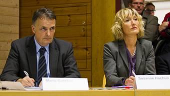 Migrationschef Mario Gattiker und Regierungsrätin Susanne Hochuli
