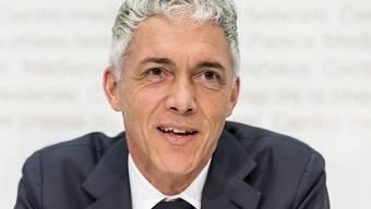 Bundesanwalt Michael Lauber schlägt vor, das fehlbare Unternehmen künftig auch in der Schweiz Vereinbarungen mit Justizbehörden treffen können. Im Gegenzug würde das Strafverfahren eingestellt. (Archivbild)