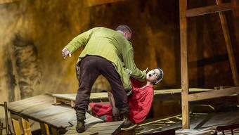 """Stösst beim Publikum auf Begeisterung: William Kentridges' Inszenierung von """"Wozzeck"""" an den Salzburger Festspielen."""