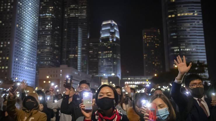 Auch für die Protestbewegung in Hongkong ist das Smartphone wichtig.