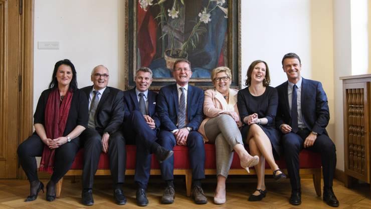 Weiterhin vier Sitze für die Bürgerlichen und drei für das linksgrüne Lager: Die Berner haben am Sonntag ihren Regierungsrat gewählt.