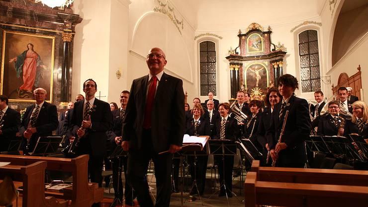 Musikgesellschaft Fislisbach in der Kath. Kirche Fislisbach