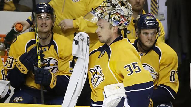 Goalie Pekka Rinne war Matchwinner von Nashville