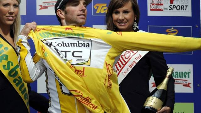 Alberto Contador bleibt Gesamtleader