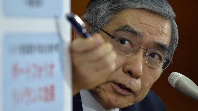 Japans Zentralbank-Chef Haruhiko Kuroda