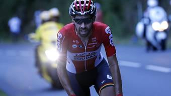 Schnellster einer Fluchtgruppe: Der Belgier Thomas de Gendt gewann die 19. Etappe der Vuelta