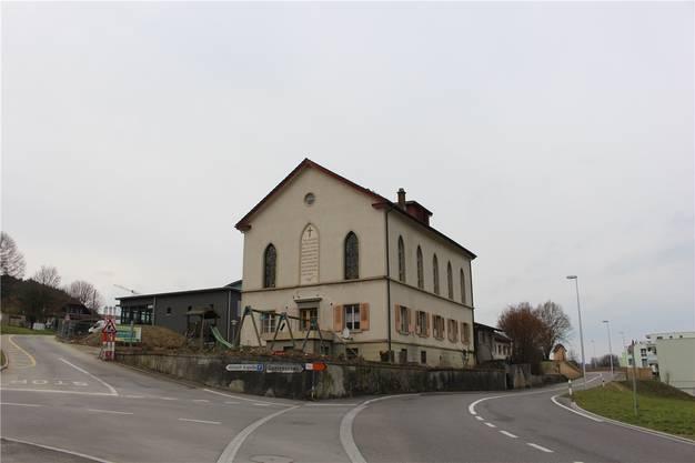 Die markante «Alzbachkapelle» wird ab Anfang April rückgebaut.