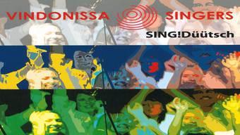 Brandneu: Das Cover der neuen CD «Sing! Düütsch».ZVG