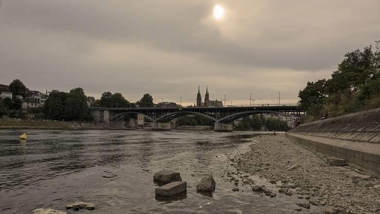 Seit Ende Juni führt der Rhein zu wenig Wasser – bis Anfang Woche.