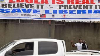 Gesundheits-Erziehung in Liberias Hauptstadt Monrovia